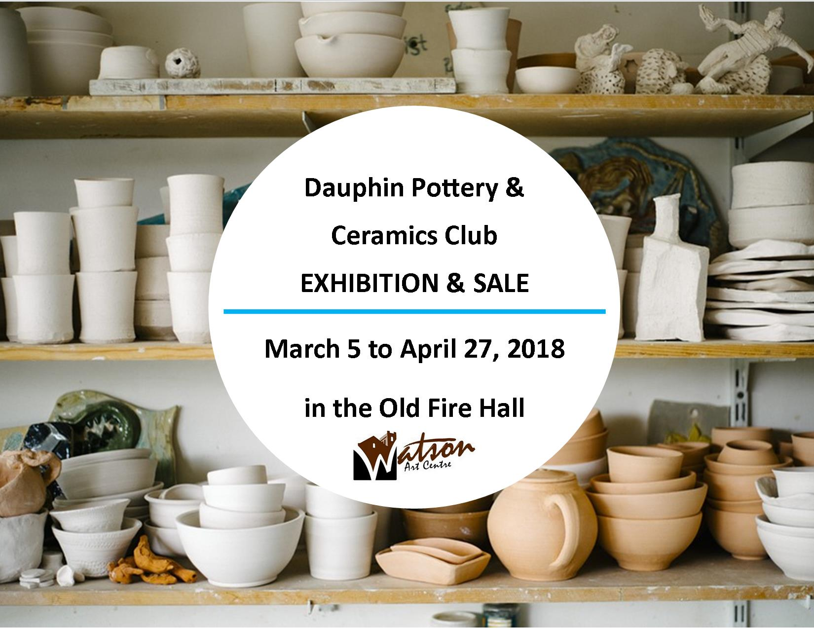 2018 Pottery Show Poster