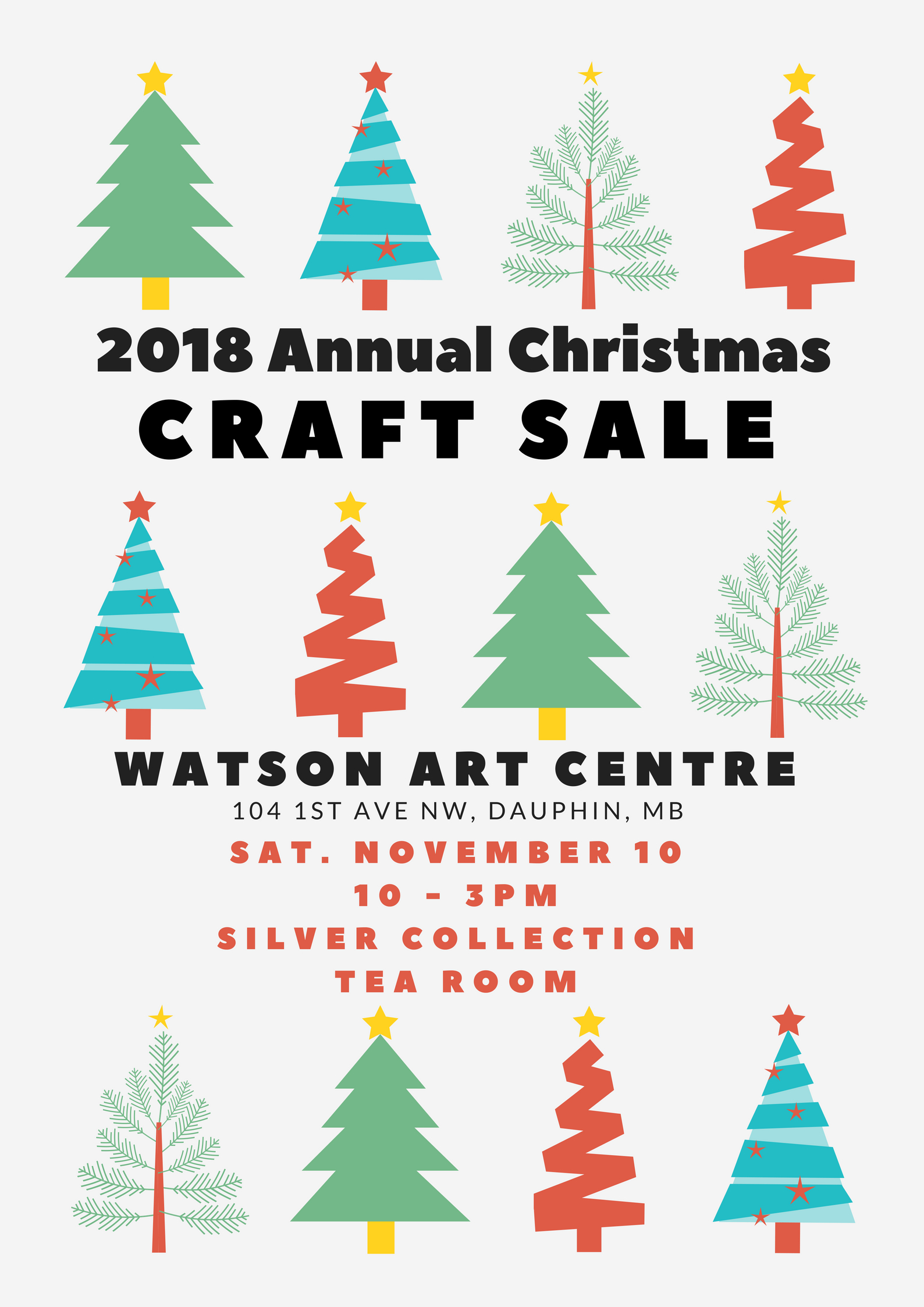 2018 Craft Sale Poster