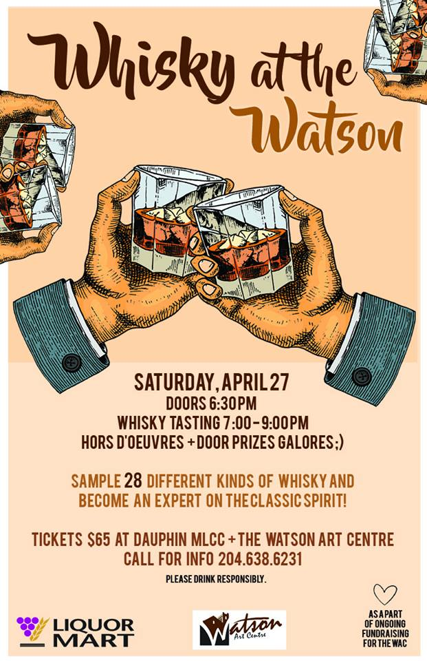 Whiskey at the WAC Poster